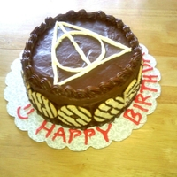 Deathly Hallows Cake