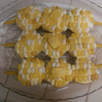 "Corn On The Cob-Cakes   Original idea from the book, ""Hello Cupcake"". Did these for a BBQ where I was told to bring the dessert. It was a HIT!"