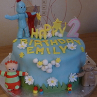 My Little Girl Emilys 2Nd Birthday Cake In The Night Garden March 2010 My 1St Fondant Cake My little girl Emily's 2nd birthday cake (In the night garden) March 2010My 1st fondant cake