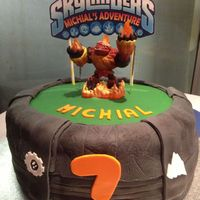 Skylanders Cake   First cake for a kids party