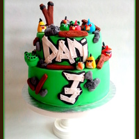 Angrybirds Birthdaycake Of Course This Cake Is Very Populair With Kids And Some Adults At The Moment And I Did This One In Different St Angrybirds birthdaycake. Of course this cake is very populair with kids (and some adults!) at the moment, and I did this one in different...
