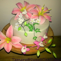 Selection Sugarflowers I love making flowers, and so I made a selection and I'm happy with the result!