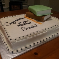 Librarian Retirement Cake