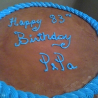 "Yummy Chocolate...   Pepa's (pronounced ""Pee-Paw's"") 83rd birthday!"