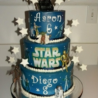 Star Wars Birthday   Buttercream
