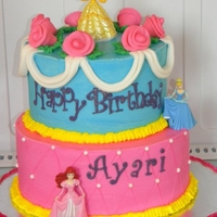 Princess Birthday   Buttercream