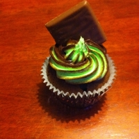 After Dinner Cupcake Choc mint flavour