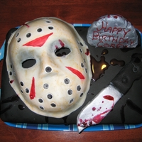 Friday 13Th Cake