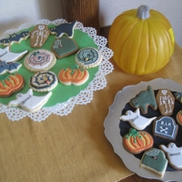 Halloween Cookies / Galletas De Halloween