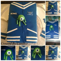Monsters University Varsity Jacket Monsters University Varsity Jacket