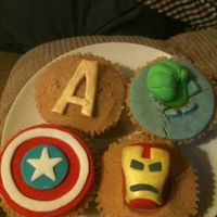 Avengers Avengers Cupcakes I made for a Avengers movie marathon