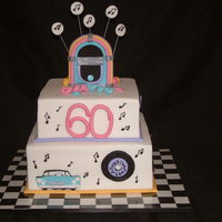 50S Style (Fondant Covered)