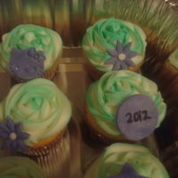 New Year 2012 Cupcakes