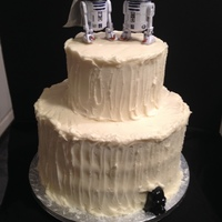 Star Wars Cake For Nephew Amp New Bride The Idea Was Given To Me By His Sisters From A Photo They Found On Pintrest The Cake Was Red V  Star Wars Cake for Nephew & new Bride. The idea was given to me by his sisters from a photo they found on pintrest. The cake was red...