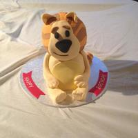 Raa Raa The Noisy Lion *Raa Raa the Noisy Lion first birthday cake.