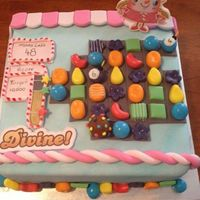 Candy Crush Birthday Cake *Candy Crush Birthday Cake :)