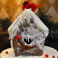 Gingerbread Birdhouse Gingerbread Birdhouse