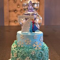 Frozen Inspired Cake Frozen inspired cake