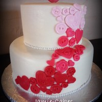 Love Notes Anniversary Cake
