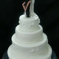 The Best Romantic Couple Kiss Wedding Cake Ever!!!
