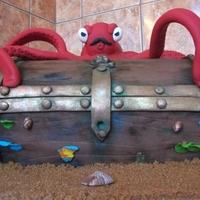 Octopus Treasure Chest