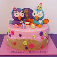 Hoot Amp Hootabelle Cake All Handcrafted I Have Seen This Cardboard Idea On A Whole Bunch Of Hoot Cakes And Thought I Would Try It Out Hoot & Hootabelle cake. All handcrafted. I have seen this 'cardboard' idea on a whole bunch of Hoot cakes and thought I would...