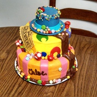 Willy Wonka Themed Cake