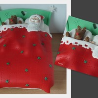 Sweet Dreams For Santa And Rudolph In Their Delicious Christmas Cake Bed Sweet dreams for Santa and Rudolph in their delicious Christmas cake-bed.