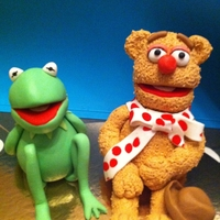 The Muppets   Kermit & Fozzie