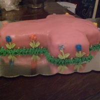 Easter Cross Homemade rolled buttercream