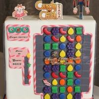 Candy Crush Saga Cake! Candy Crush Saga Cake!