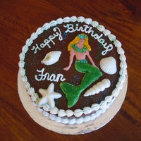 Mermaid Cake Mermaid Cake by Michelle B of our Santa Cruz County chapter. She made this cake for a disabled senior.