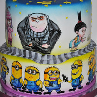Despicable Me Cake By Vsemtort Despicable Me cake by VsemTort