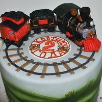 The Train Cake By Vsemtort The train cake by VsemTort