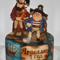 Pirate Happiness Pirate happiness cake by VsemTort