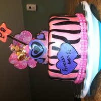 Princess Averi Barbie Cake