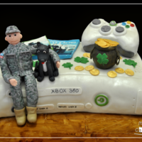 "A Grooms Cake Bride Wanted To Surprise The Groom With A Cake At The Rehearsal Dinner She Said The Groom Likes To Play Xbox The Office  A Groom's cake - Bride wanted to surprise the groom with a cake at the rehearsal dinner- She said the groom likes to play XBOX, ""..."