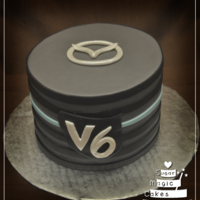 A Cake For A Guy Who Bought His First Car A cake for a guy who bought his first car!