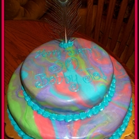 Dirty 30 Birthday Cake This is a cake for my friend's 30th birthday!