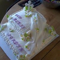 My Cousin Jordyn's First Communion Cake