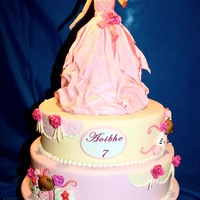 Mixed Themed Doll Cake Mixed themed Doll Cake