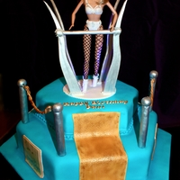 Britney Spears Live On Stage Cake Britney Doll Cake