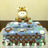 Baby Shower Giraffe Cake Topper Baby shower, giraffe cake topper