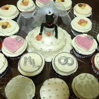 Bridezilla Mini Cake And Cupcakes