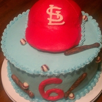 Baseball Buttercream (except bat, ball, white STL)