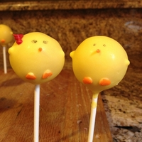 Farm Animal Cake Pops Baby Chicks