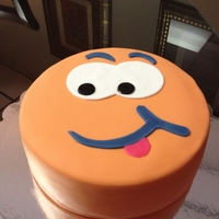 Silly Face Birthday Cake