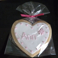 Wedding Favour, Place Name Cookies