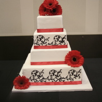 This Cake Was Done For My Nephews Wedding This cake was done for my Nephew's wedding.