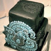 This Was A Divorce Cake I Was Commissioned To Make I Know Its Got Some Blue In Their But It Is A Black Cake This was a divorce cake I was commissioned to make. I know it's got some blue in their, but it is a black cake.
